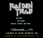 Raiden Trad title screenshot