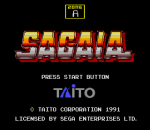 Sagaia title screenshot