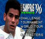 Sampras Tennis 96 title screenshot