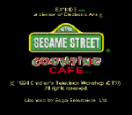 Sesame Street Counting Cafe title screenshot