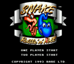 Snake Rattle'n'Roll title screenshot