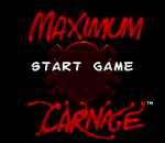 Spider-Man . Venom - Maximum Carnage title screenshot