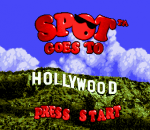 Spot Goes to Hollywood title screenshot