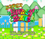 Super Fantasy Zone title screenshot