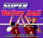 Super Volley Ball title screenshot