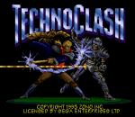 Techno Clash title screenshot