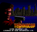 Technocop title screenshot