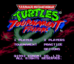 Teenage Mutant Ninja Turtles - Tournament Fighters title screenshot
