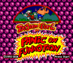 ToeJam & Earl 2 : Panic on Funkotron title screenshot