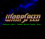 WarpSpeed title screenshot