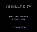 Assault City title screenshot