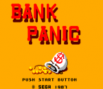 Bank Panic title screenshot