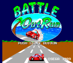 Battle Out Run title screenshot
