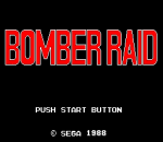 Bomber Raid title screenshot