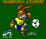 Champions of Europe title screenshot
