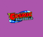 Cosmic Spacehead title screenshot