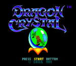 Dragon Crystal title screenshot