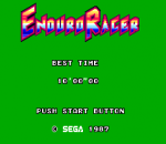 Enduro Racer title screenshot