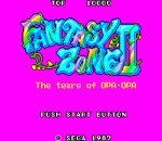 Fantasy Zone II - The Tears of Opa-Opa title screenshot
