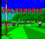 Golfamania title screenshot