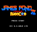 James Pond 2 - Codename RoboCod title screenshot