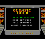 Olympic Gold title screenshot