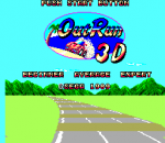 Out Run 3-D title screenshot