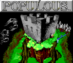 Populous title screenshot