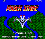Power Strike title screenshot