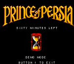 Prince of Persia title screenshot