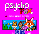 Psycho Fox title screenshot