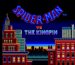 Spider-Man vs. The Kingpin title screenshot