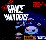 Super Space Invaders title screenshot