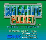 Bust-A-Move Pocket title screenshot