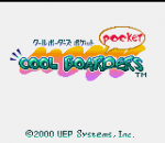 Cool Boarders Pocket title screenshot