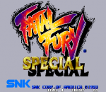 Fatal Fury Special title screenshot