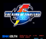 King of Fighters 2001, The title screenshot