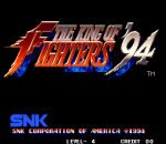 King of Fighters '94, The title screenshot