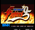King of Fighters '95, The title screenshot