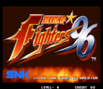 King of Fighters '96, The title screenshot