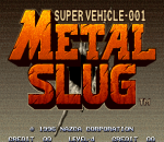 Metal Slug - Super Vehicle-001 title screenshot