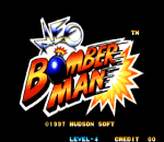 Neo Bomberman title screenshot