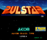 Pulstar title screenshot