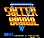 Soccer Brawl title screenshot