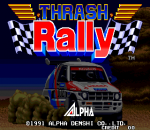 Thrash Rally title screenshot