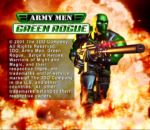 Army Men - Green Rogue title screenshot
