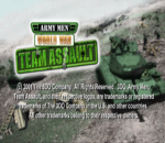 Army Men - World War - Team Assault title screenshot