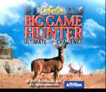 Cabela's Big Game Hunter - Ultimate Challenge title screenshot
