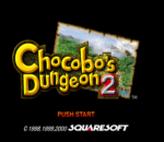 Chocobo's Dungeon 2 title screenshot
