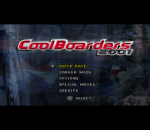Cool Boarders 2001 title screenshot